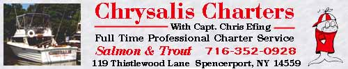Chrysalis Fishing Charters 716-352-0928
